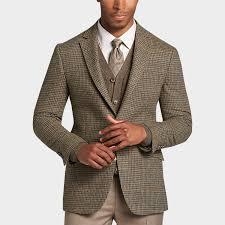 Tan Republic Bend Oregon Joseph Abboud Tan Houndstooth Slim Fit Sport Coat Men U0027s 369 99