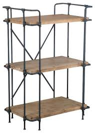Reclaimed Wood And Metal Bookcase Bookcase Wood And Metal Bookcase Uk Distressed Wood And Metal