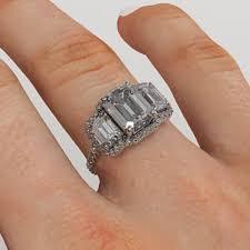 engagement rings 600 free rings 3 emerald cut engagement rings