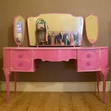 Pink Vanity Table 16 Best Dressing Tables Images On Pinterest Blue Vanity Dream