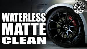 chemical guys black friday sale clean matte wheels without water chemical guys ecosmart youtube