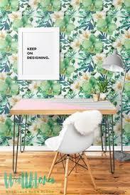 calathea leaves pattern self adhesive wallpaper wishlist