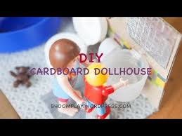 cardboard dollhouse plans