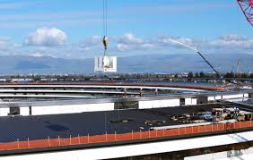 apple u0027s 5 billion spaceship campus to open in april as u201capple