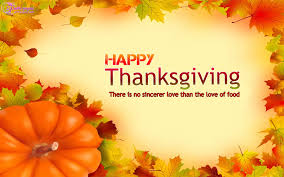 thanksgiving day is the day when give thanks to what they