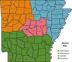 Boone Map Arkansas Museums Association Ama District Map