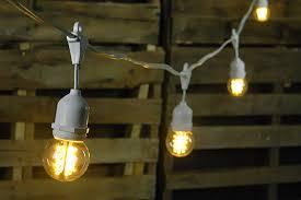 Led Patio Lights Furniture Enchanting String Lights Led Design Led Globe String