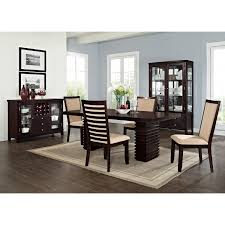 Large Rustic Dining Table Value City Furniture Dining Room Sets With Bench White Saddle