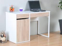 Schreibtisch Computer Schreibtisch Function In Weiß Eiche Computertisch Arbeitstisch