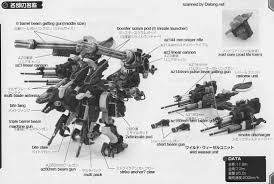 hmm gun sniper leena special english manual u0026 color guide mech9