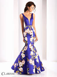 floral dresses clarisse prom dress 4813 promgirl net