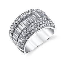 18k white gold wedding band 18k women s wedding bands shop the best bridal wedding rings