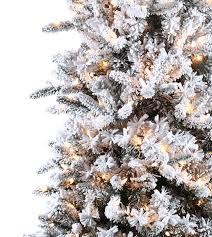 slim flocked pencil pine artificial trees treetime