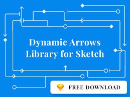 dynamic arrows library for sketch freebie download sketch