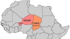Niger Africa Map by Bill U0027s Excellent Adventures Niger U0026 Chad