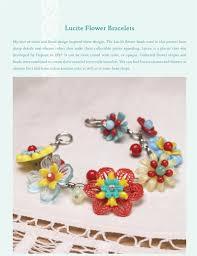 sherri haab jewelry inspirations lucite flower bracelets