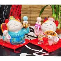wedding gift japanese sell japanese wedding gift decor sweety ceramic maneki neko