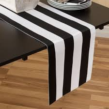 black and white table runners cheap x 90 in black white stripes table runner