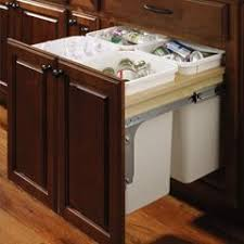 Kitchen Cabinet Trash Can Pull Out Best 25 Trash Can Cabinet Ideas On Pinterest Cabinet Trash Can