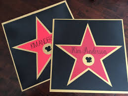 personalized hollywood walk of fame star by joyeventstylist