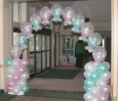 what are balloon decoration ideas for baby shower updated quora