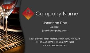 Catering Calling Card Design Quality Catering