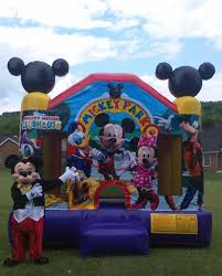 mickey mouse clubhouse bounce house knoxville inflatables bounce house rentals party