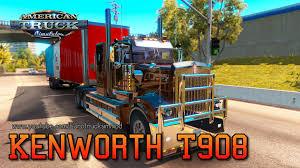 dealer kenworth kenworth t908 american truck simulator youtube
