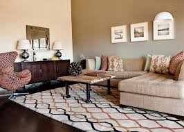accent walls living room contemporary with earth tone colors dark