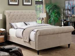 Upholstered Sleigh Bed Bedrooms Upholstered Beds