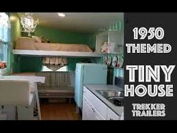 themed house 1950 s themed retro tiny house with chandelier