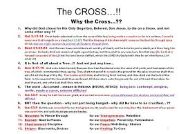 the cross 1 why the cross 2 the prophetic meaning of the