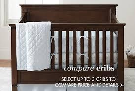 cribs convertible cribs u0026 bassinets pottery barn kids