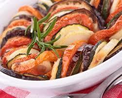 cuisiner des courgettes au four recette tian aux 2 viandes tomates et courgettes au four