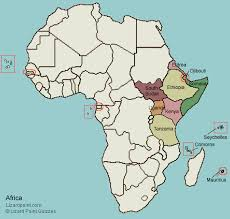 map world africa test your geography knowledge eastern africa countries lizard