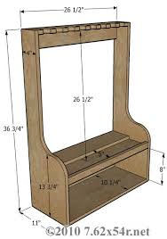 Wood Storage Rack Woodworking Plans by Vertical Gun Rack Vertical Wall Gun Racks Protected By The