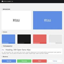 style guide template outsystems