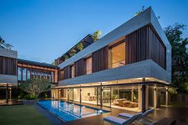 stunning singapore home wards off the sweltering heat with cool