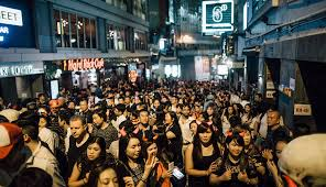 halloween city closing time lan kwai fong hong kong u0027s party district cnn travel