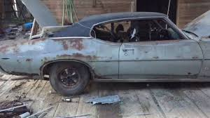 Muscle Car Barn Finds 1969 Gto Barn Find Youtube