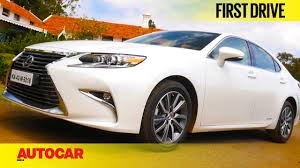 lexus is c price in india lexus es300h first drive autocar india youtube