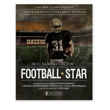 sports movie poster template