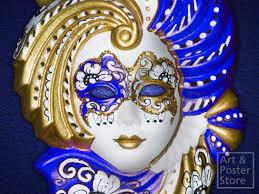 porcelain mardi gras masks second marketplace gold and blue porcelain venetian mask wall