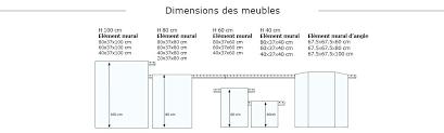 meuble haut cuisine largeur 50 cm meuble bas cuisine profondeur 50 cm profondeur placard cuisine