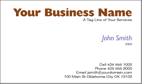 Business Card For Ceo Business Cards For Vets