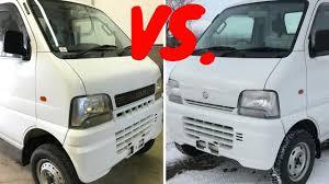 subaru mini truck suzuki mini truck comparo da62t vs db52t youtube