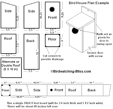 free house plans free bird house plans easy build designs