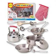 Stainless Steel Kitchen Set by Stainless Steel Play Kitchen Set Foter