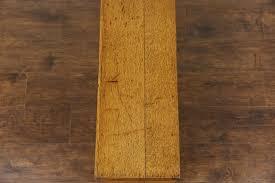 Antique Laminate Flooring Oak Quartersawn Countertop 1910 Antique 45 Drawer File Cabinet