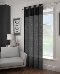 Black And Grey Curtains Curtain Gray Curtains Grey Blackout Curtains Grommet Grey